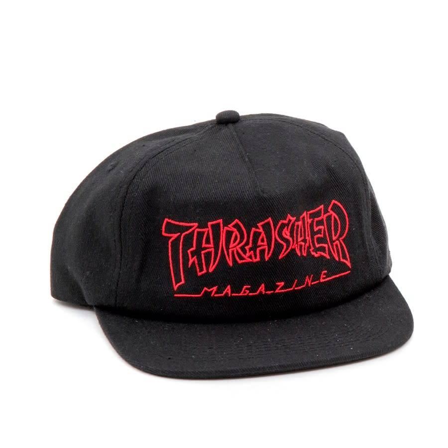 Thrasher Mag. China Banks Snapback Black