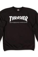 Thrasher Mag. Skate Mag Crew Black
