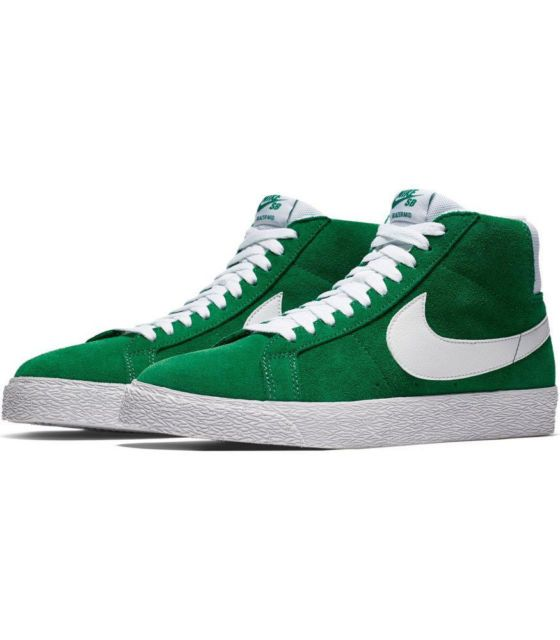 Nike USA, Inc. Nike SB Zoom Blazer Mid Pine Green/White