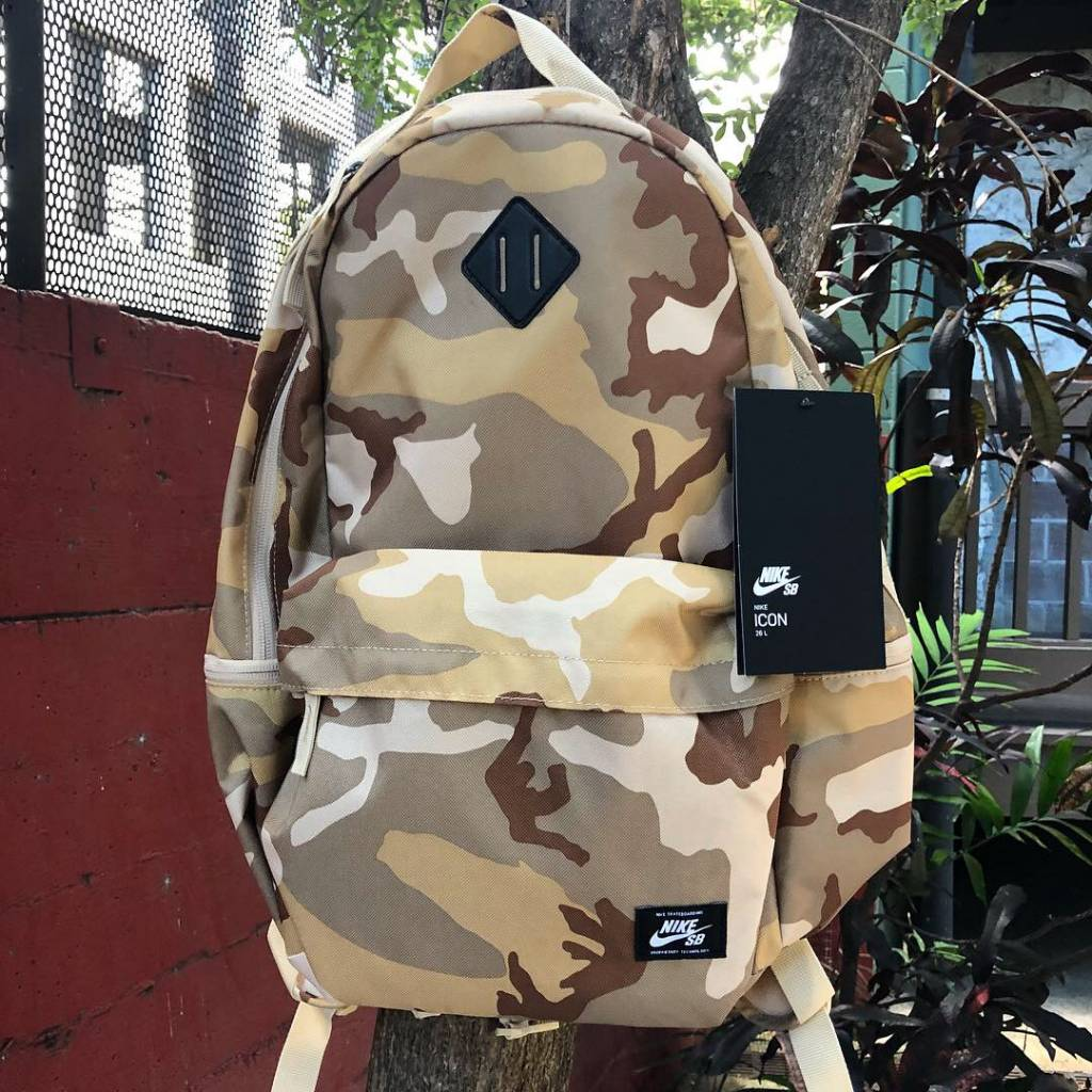 Nike USA, Inc. Nike SB Icon Backpack Dessert Camo