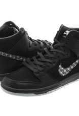 Nike USA, Inc. Nike SB Zoom Dunk High Pro QS Black/Black Wolf Grey