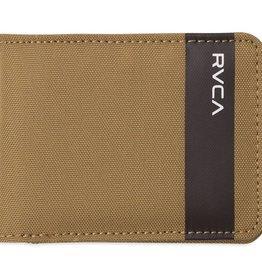RVCA Leeward Bifold Wallet Tan