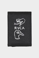 RVCA ANP Trifold Black