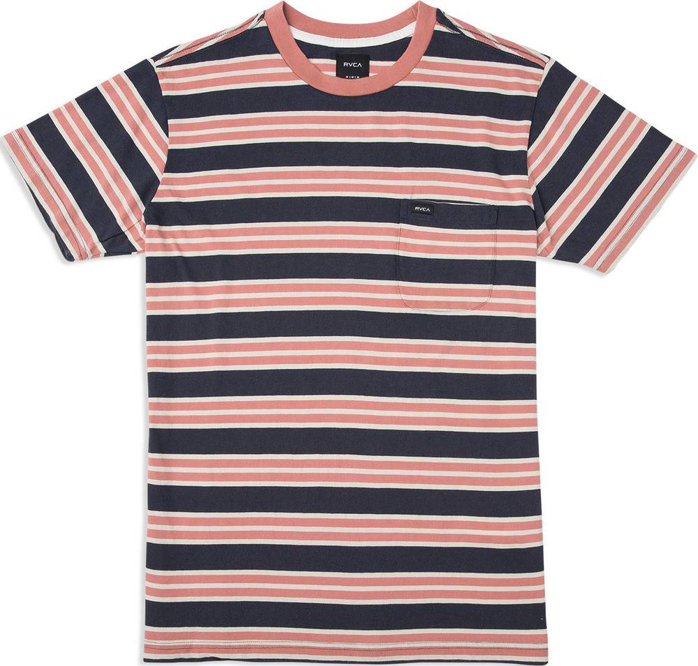 RVCA Lucas Stripe Blue