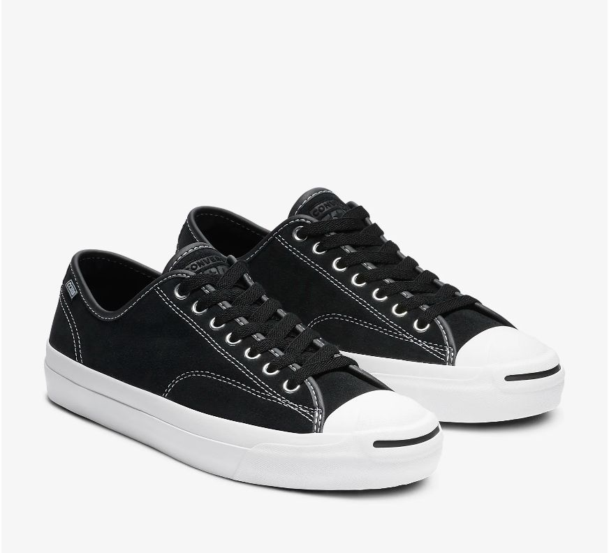 Converse USA Inc. JP Pro Ox Suede Black/Black/White