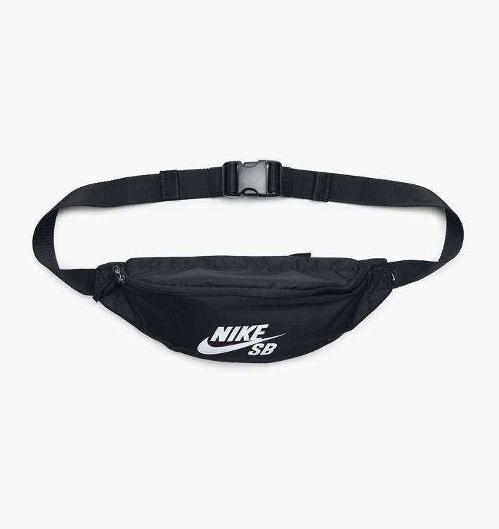 c099837fdb Nike SB Heritage Hip Pack Black White - APB Skateshop LLC.