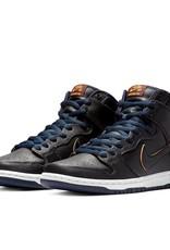 Nike USA, Inc. Nike SB Dunk High Pro NBA Black/Black/Navy