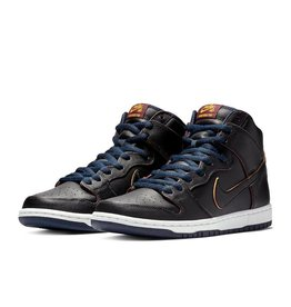 Nike USA, Inc. Nike SB Dunk High Pro NBA Black/Black/Navy