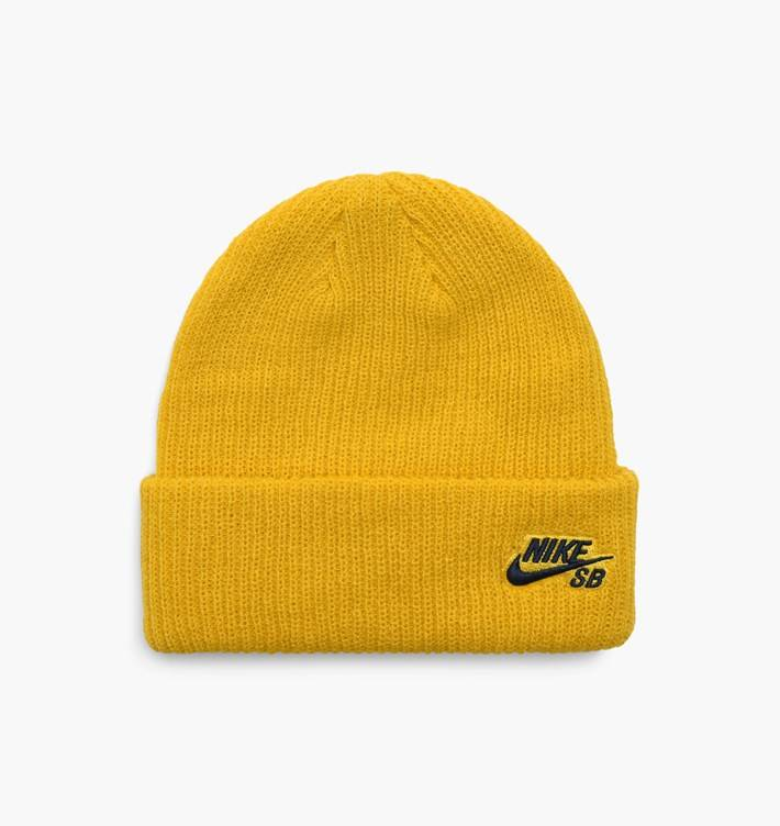 Nike SB Fisherman Beanie Yellow - APB Skateshop LLC. 3d88c1a1ee7