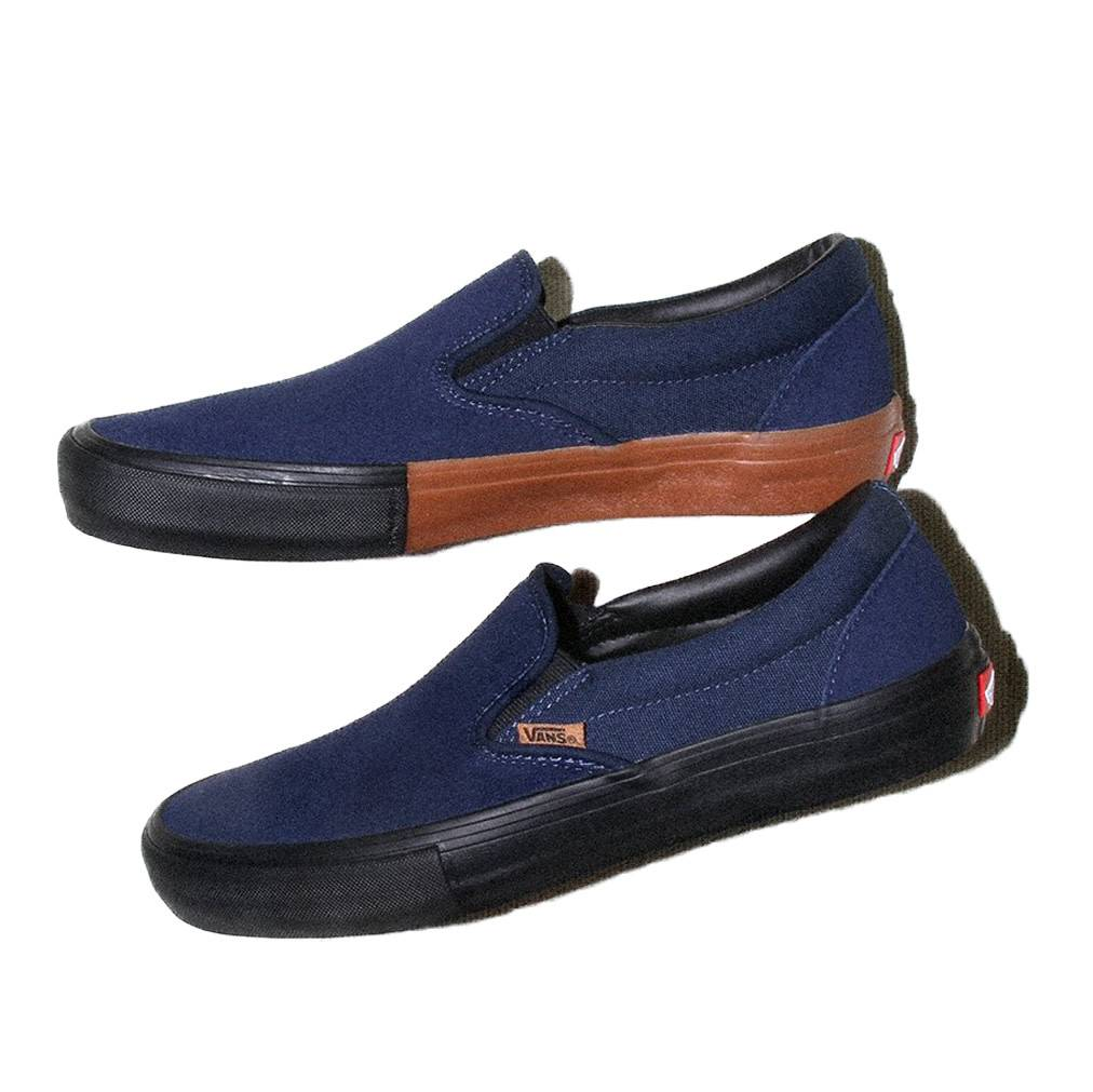 Vans Shoes Slip On Pro Split Foxing Navy/Black/Gum
