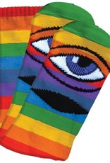 Toy Machine Sect Eye Rainbow Crew Sock