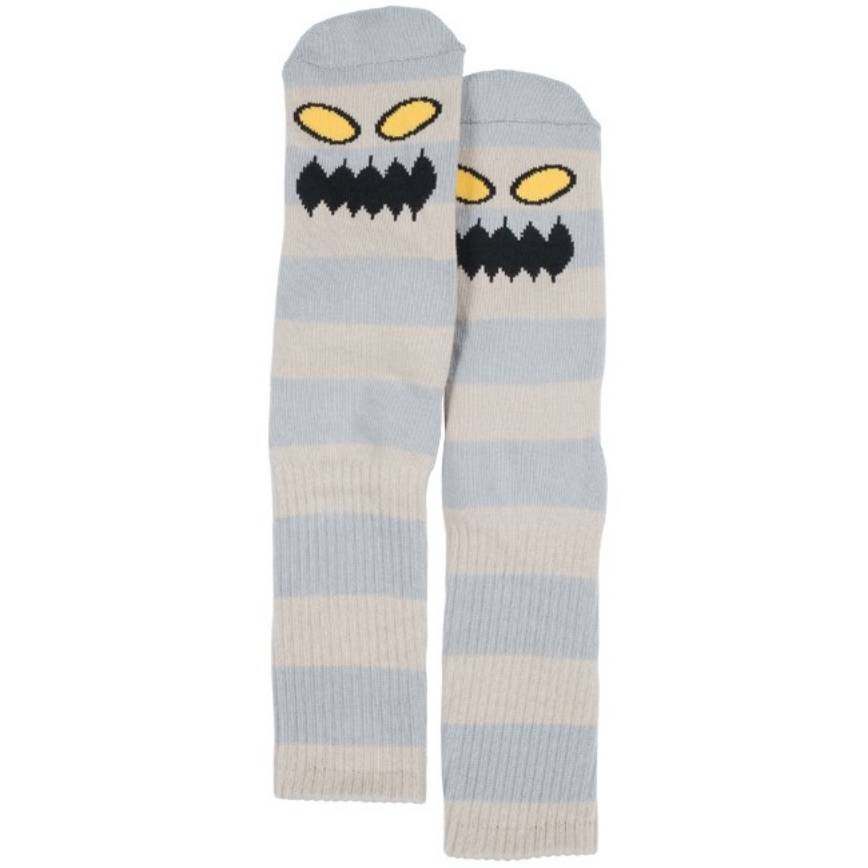 Toy Machine Monster Big Stripe Grey Sock