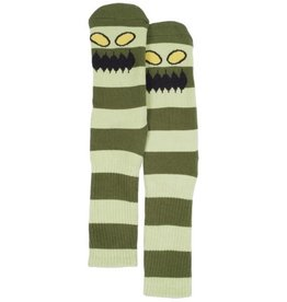 Toy Machine Monster Big Stripe Green Sock