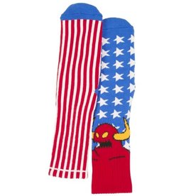 Toy Machine American Monster Red/Wht/Blue Sock