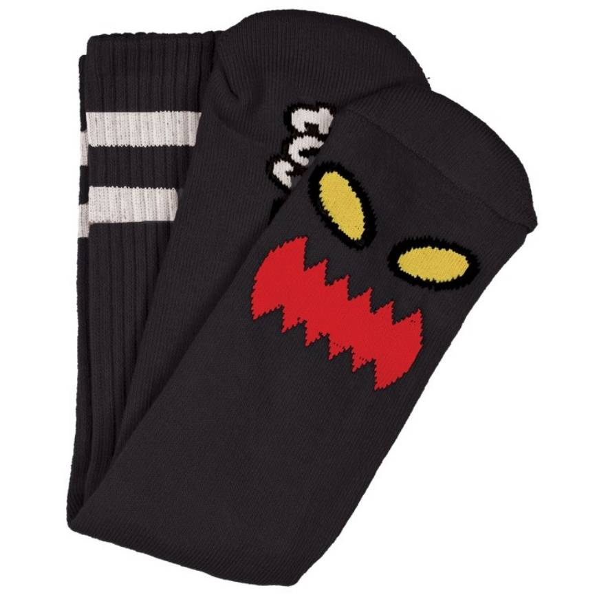 Toy Machine Monster Face Sock Black