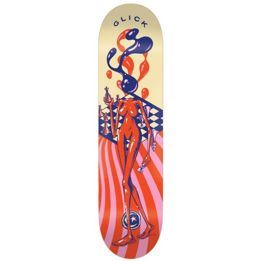 Foundation Skateboards Glick Surrealist 8.5""