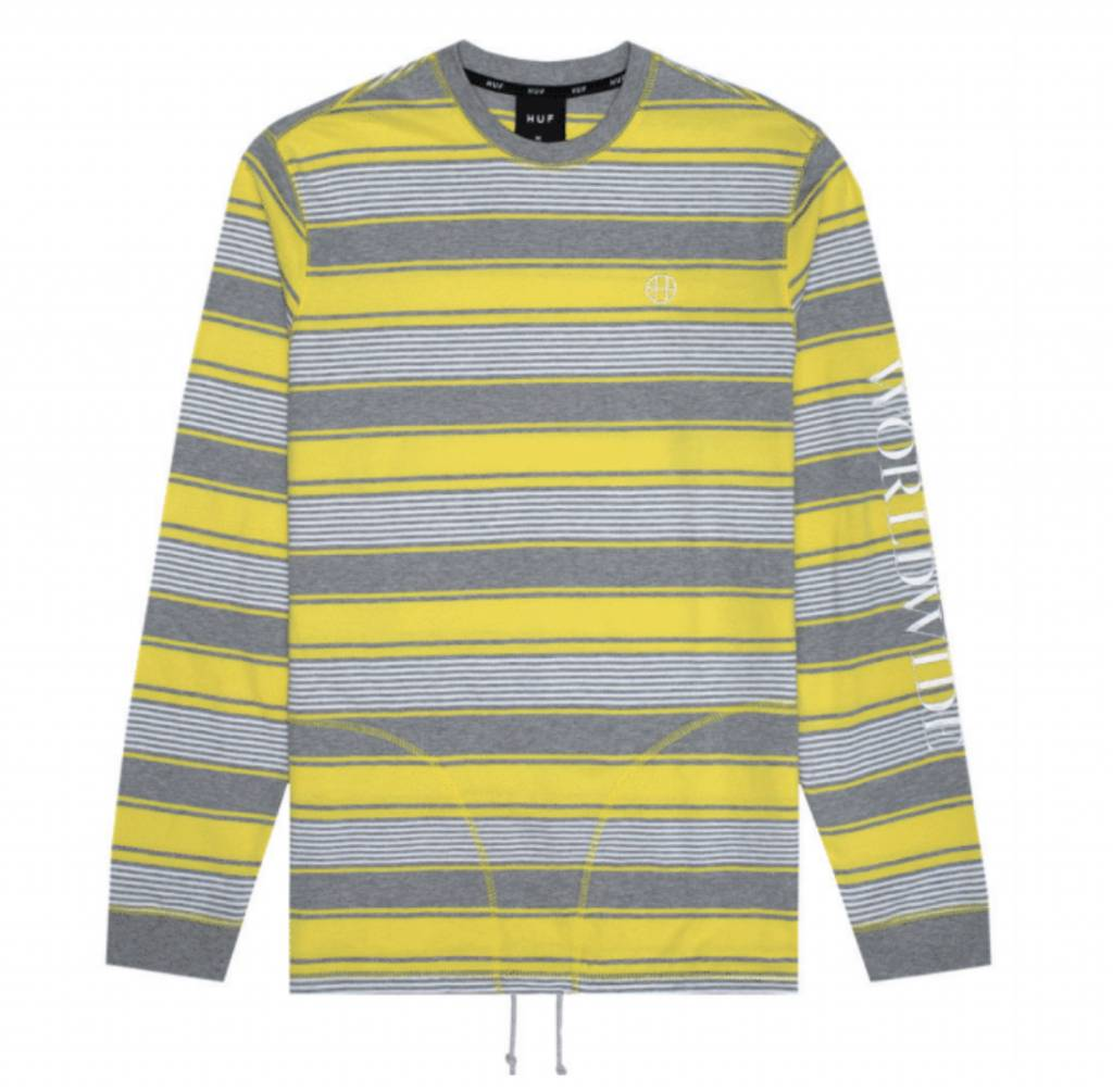 HUF Essex L/S Knit Yellow