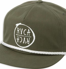 RVCA Graphic Pack Snapback Green