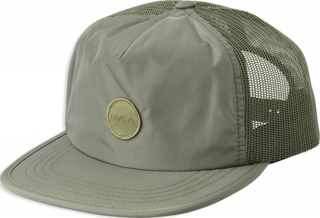RVCA Travel Trucker Green