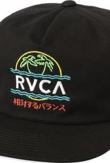 RVCA Vakay Snapback Black