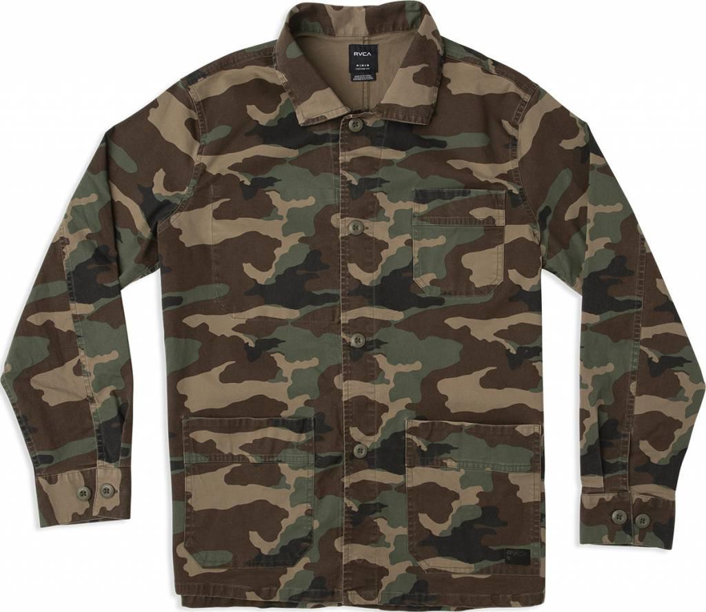 RVCA Couleur Chore Coat Camo