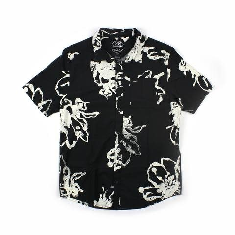 RVCA Vaughn Linear S/S Black