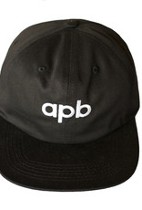 APB Skateshop APB Logo 6-Panel Black
