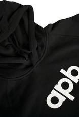 APB Skateshop APB Logo Black w/ White Hoodie