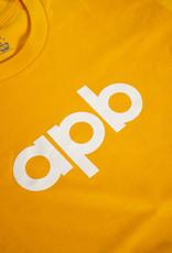 APB Skateshop APB Logo Tee Gold w/White