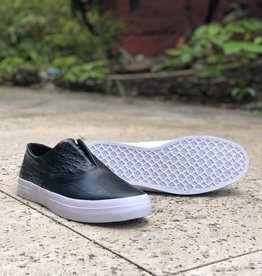 HUF Dylan Slip On Black Croc Leather