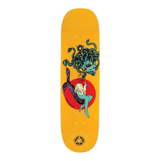 Welcome Skateboards Gorgon on Enenra Yellow 8.5""