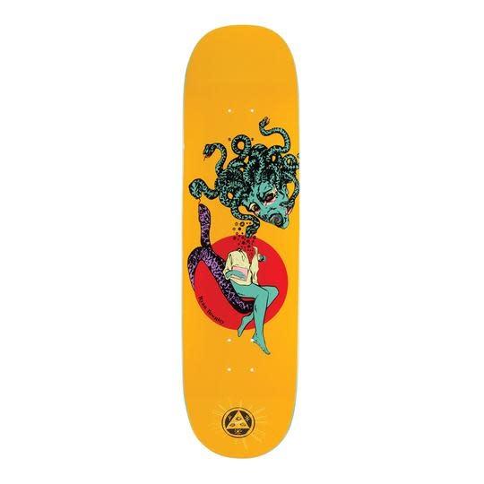 "Welcome Skateboards Gorgon on Enenra Yellow 8.5"""