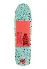 """Welcome Skateboards Go Darker on Basilisk Teal/Coral 8.8"""""""