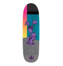 Welcome Skateboards Hedo Rick on Atheme Purple/Teal Stain 8.8""