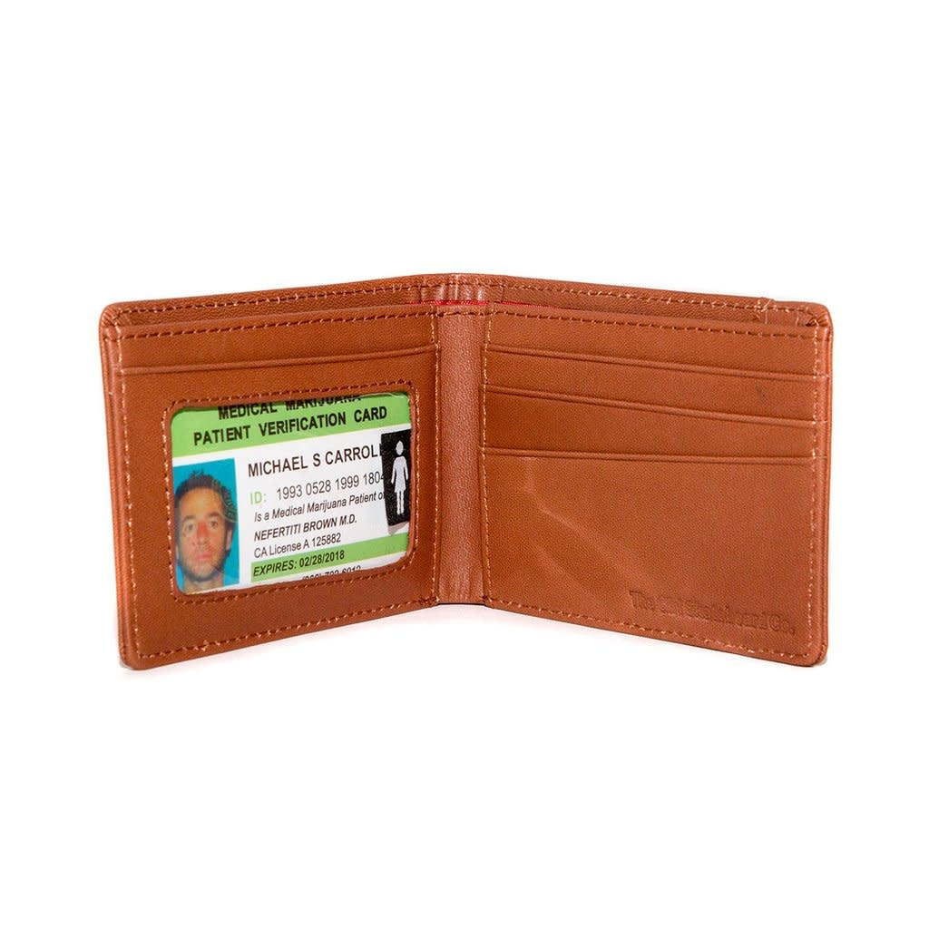 Girl Skateboard Company Girl Micro OG Wallet Tan Leather