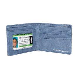 Girl Skateboard Company Girl Micro OG Wallet Blue Denim