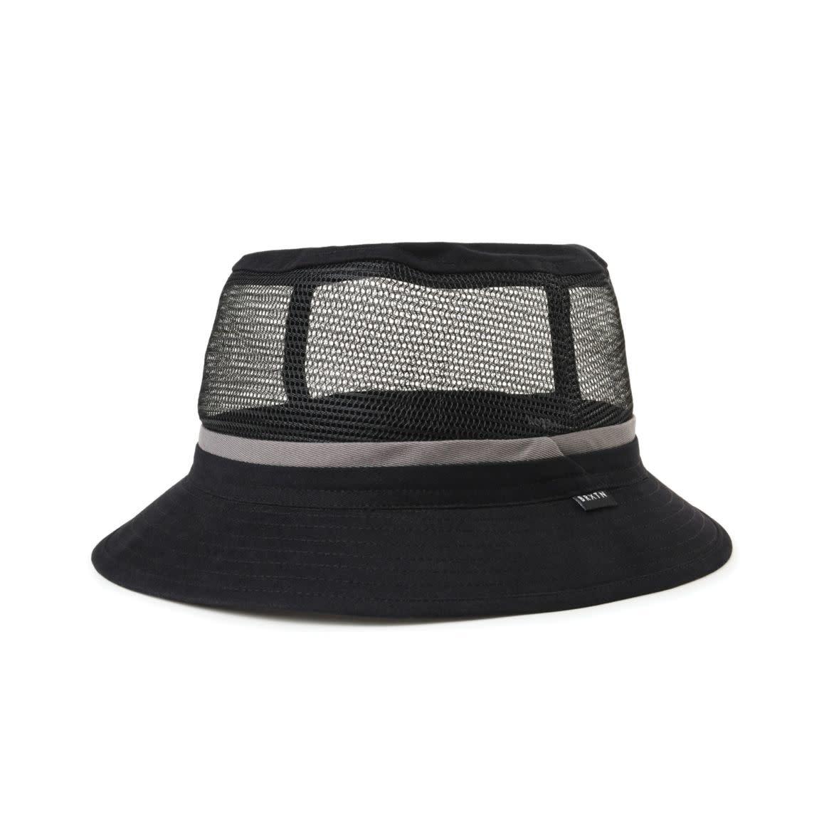 Brixton Hardy Bucket Hat Black/Grey