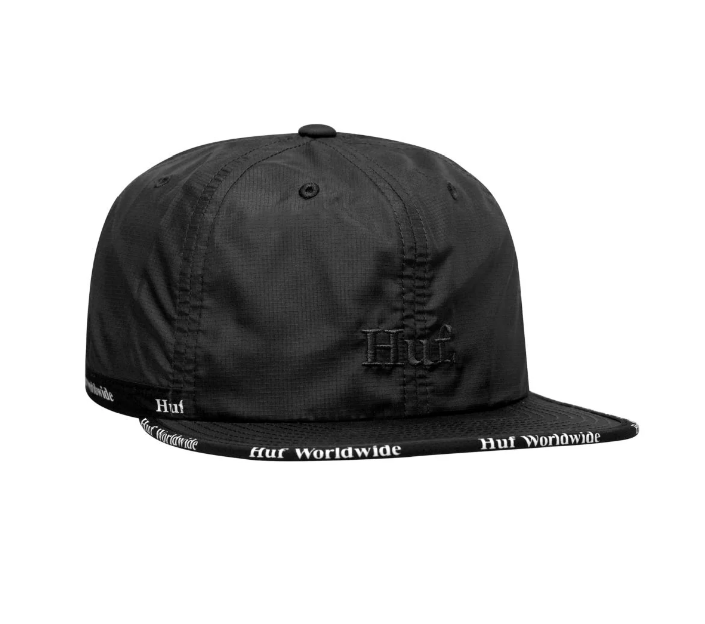 HUF Midtown 6 Panel Black
