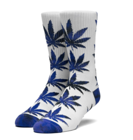 HUF Plantlife Tiedye Leaves Sock Insignia Blue