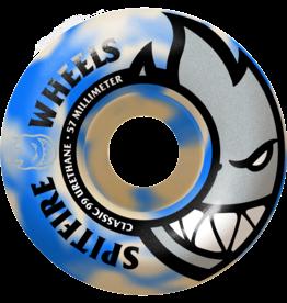 Spitfire Wheels Spitfire Bighead Blue Swirl 57mm