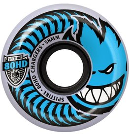 Spitfire Wheels Spitfire 80HD Charger Conical Clear