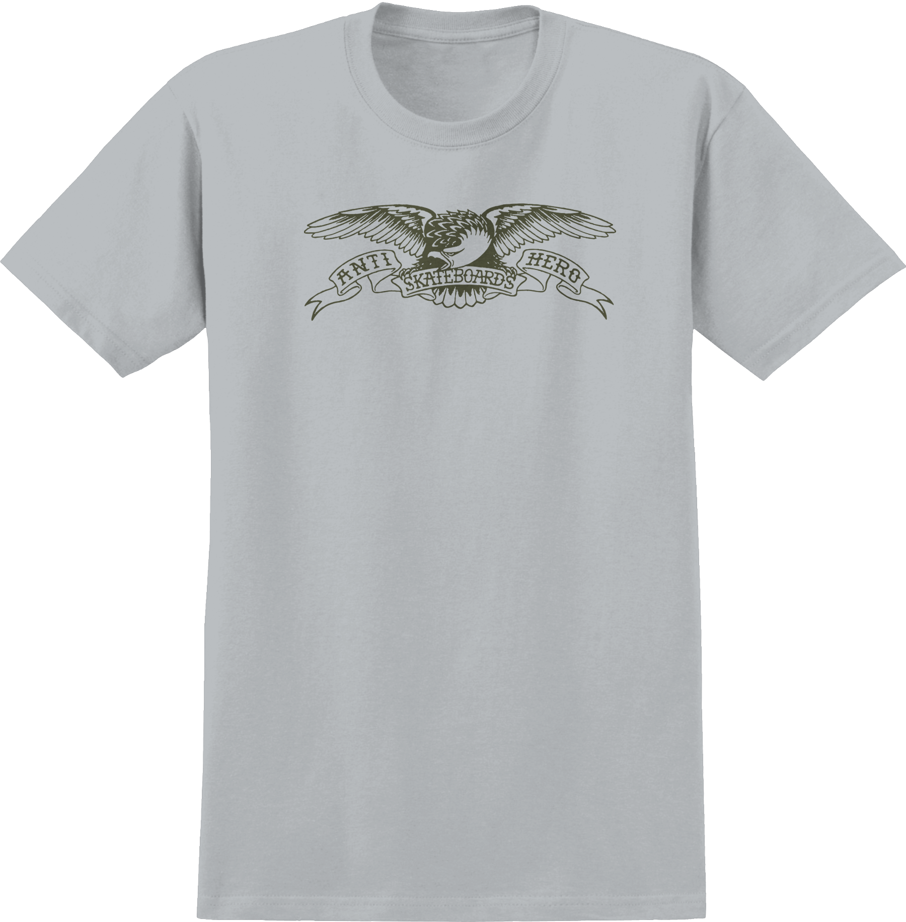 Anti Hero Basic Eagle Silver Grey Tee
