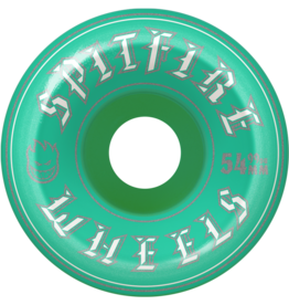 Spitfire Wheels Spitfire Classic Old English Turq 54