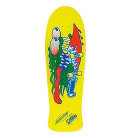 Santa Cruz Skateboards Slasher Reissue Yellow 10.1