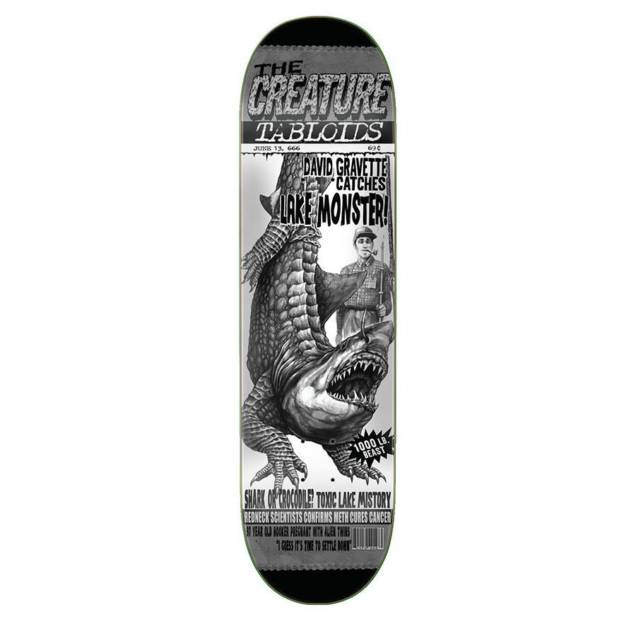 Creature Skateboards Gravette Tabloid 9.0