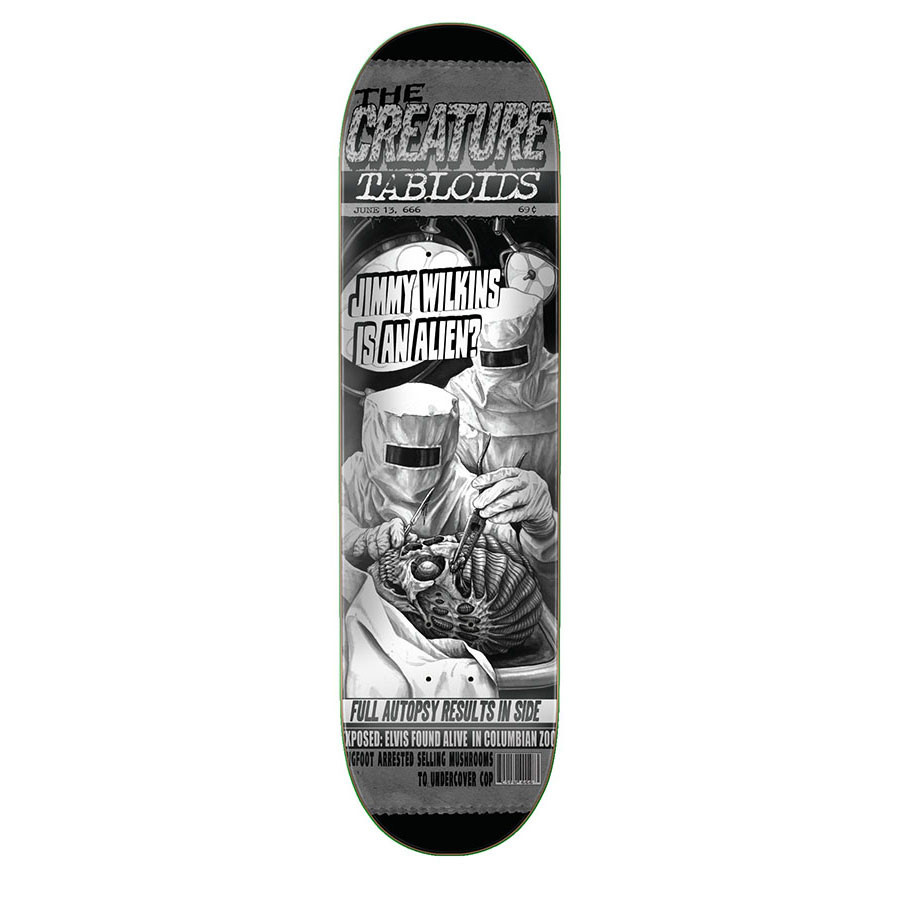 Creature Skateboards Wilkins Tabloid 8.8