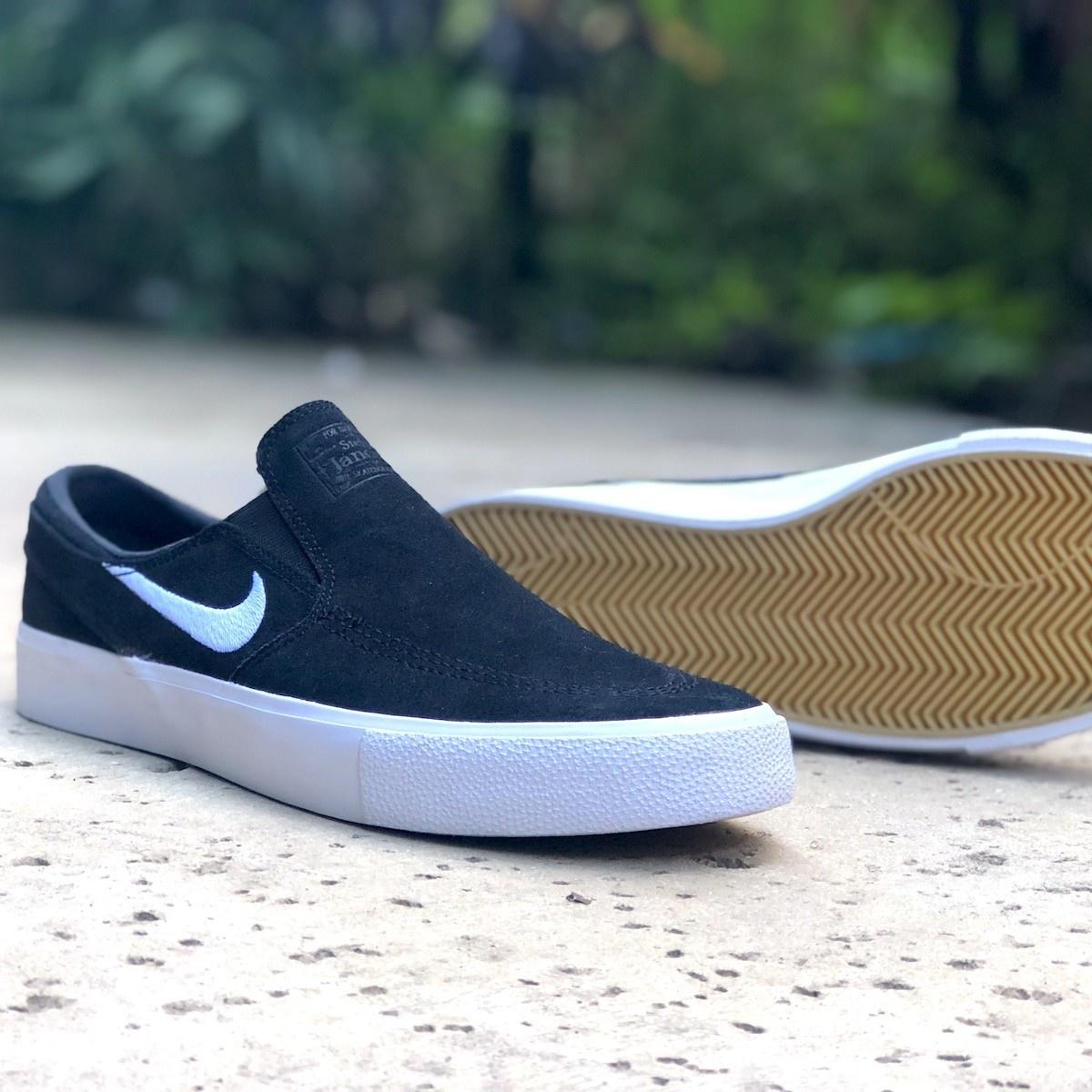 vast selection buying now special sales Nike SB Zoom Janoski Slip RM Black/White