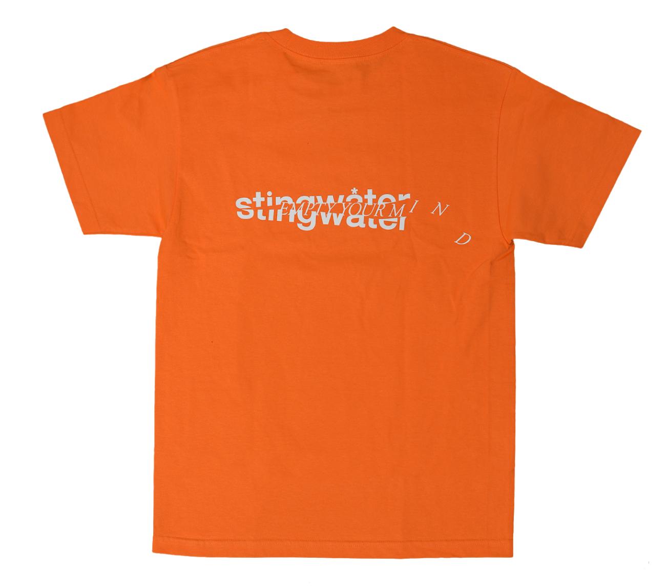 Stingwater New Skin Orange Tee