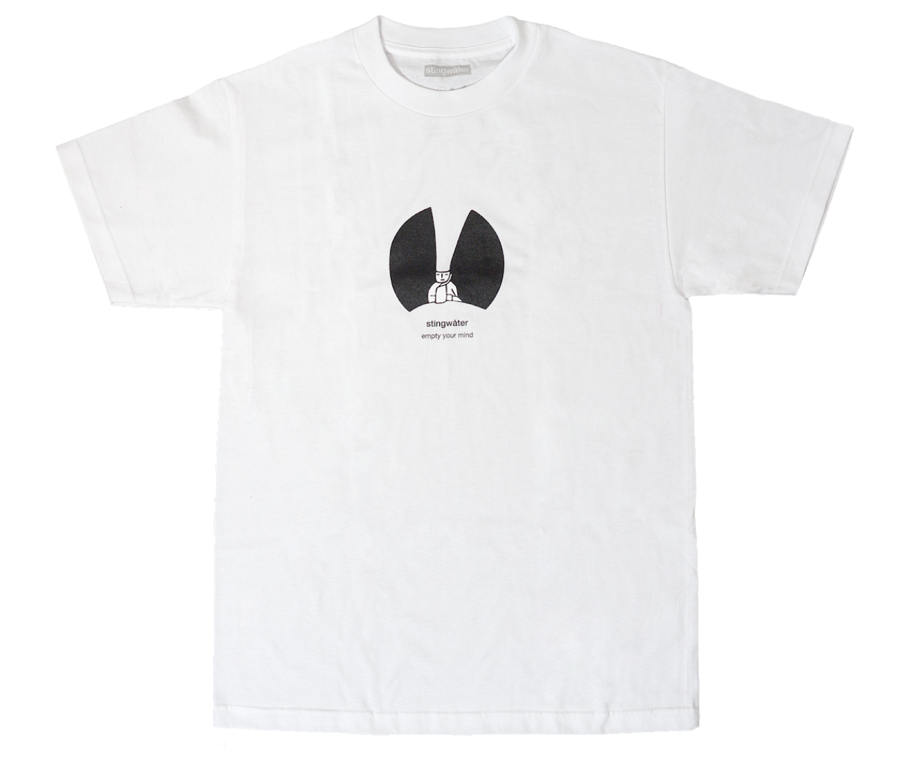 Stingwater Les Empty Minds White Tee