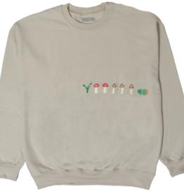 Stingwater V Speshal Caterpillar Sand Sweater